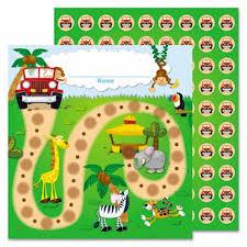 Chart Jungle Carson Dellosa Publishing Jungle Safari Mini Incentive Chart 30 Pk Cdp148004
