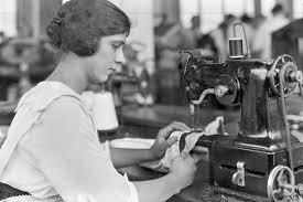 Image result for  garment plant 1960's