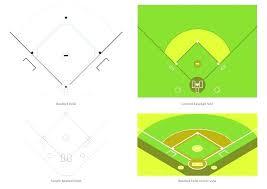 Baseball Field Template Printable Softball Field Position Template Baseball Information Hart