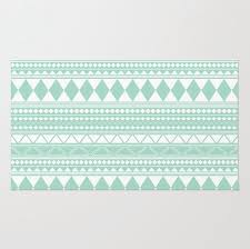 collection in mint area rug mint tribal pattern decorative area rug nursery rug girls