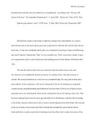 don quixote research paper 6