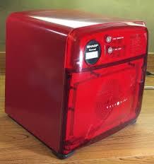 sharp half pint microwave oven. sharp carousel half pint microwave oven red dorm camper truck compact r 120ds i