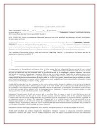 Supply Agreement Contract 24 FREE Independent Contractor Agreement Forms Templates 9