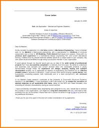 cover letter for engineering job cover letter engineering mechanical engineering cover letter