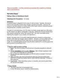 Examples Of Thesis Essays Example Of A Thesis Statement For
