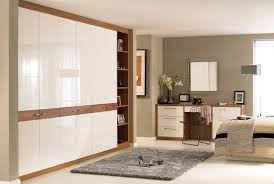 Modern Fitted Bedrooms Horizon White Walnut Bedroom Furniture Wardrobes Http Www