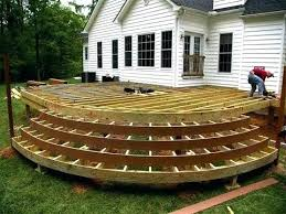 Diy Build Ground Level Deck How To Build Ground Level Deck Build Ground Level Deck Build Ground Level Deck How Pierwszyinfo Build Ground Level Deck Ground Deck Ground Level Deck Vs Patio