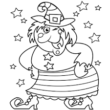 Small Picture Halloween Witch Coloring Pages Festival Collections