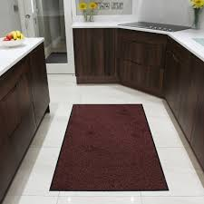 Non Slip Kitchen Floor Mats Small Red Kitchen Rugs Quicuacom