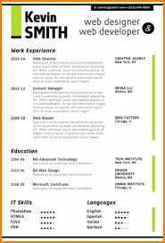 Best Resume Template Word Adorable Best Cv Template WordMicrosoft Word Web Designer Resume Green 28pg
