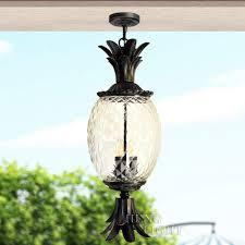 Pineapple Mini Pendant Light Amazon Com Pumpink Barn 1 Light 1 Light Outdoor Hanging