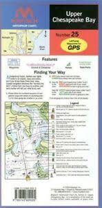 Upper Chesapeake Bay Chart Details About Upper Chesapeake Bay Waterproof Chart 4th Edition