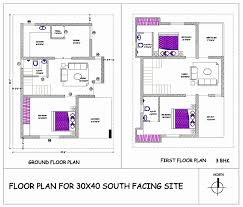 30 40 house plans first floor awesome 30x40 south facing house plans as per vastu house