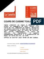 Cours De Cuisine Toulon