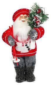 <b>Фигурка Maxitoys Дед</b> Мороз с лыжами 47 см — купить по ...