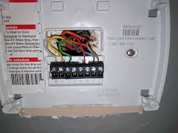 breaburn thermostat wiring color diagram breaburn automotive Luxpro Thermostat Wiring Diagram another thermostat wiring question hvac diy chatroom home LuxPro Thermostat Manual