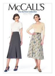 Mc Calls Patterns Interesting M48 Misses' Midi Skirts and Belt Sewing Pattern McCall's Patterns