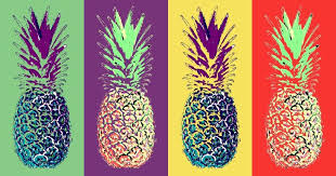 colorful pineapple wallpaper. 736x387 px colorful pineapple wallpaper c