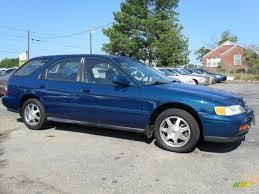 Azure Blue Green Pearl 1995 Honda Accord EX Wagon Exterior Photo ...
