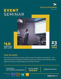 Create A Event Flyer Free Free Seminar Flyer Template Word Psd Apple Pages