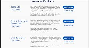 However, many policies require a medical exam, without which insurance companies will not approve you. Aig Life Insurance Review Quickquote