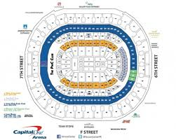 Verizon Center Seating Chart Capitals Capitals Seating Chart Seating Chart
