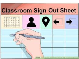 3 Ways To Get Permission To Use The Bathroom In School - Wikihow