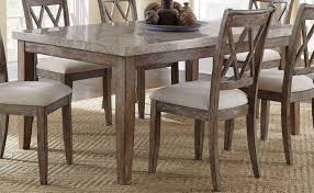 offer dining table franco steve silver franco  piece x rectangular dining room set w marble top
