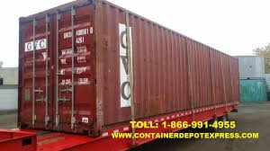 Sea Land Containers For Sale New Or Used Steel Storage Container For Rent Or Purchase In