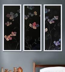 canvas 29 5 x 11 5 inch fl wall art