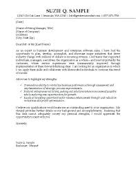 Example Cover Letter Resume Examples Cover Letter It Sales Cover