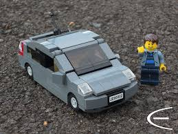 LEGO Toyota Prius '05 | A minifigure-scale replica of the wo… | Flickr