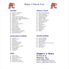 Dainty Ba Ba Shower Items List Shower Checklist To Help Plan In