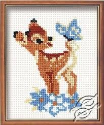 Deer Cross Stitch Charts Stitch Kits Riolis Cross