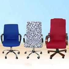 computer chair slipcover. Delighful Slipcover Elegant Office Computer Chair Cover Side Zipper Design Arm Elastic  Slipcover Decor On