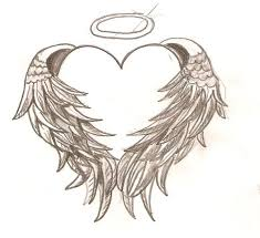 Free Hearts With Wings Coloring Pages Download Free Clip Art Free