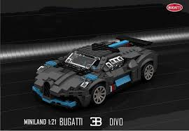 Speed build and building instructions for custom lego bugatti chiron speed champions set 75878 alternative moc model. Bugatti Divo En Lego Supercars Gallery