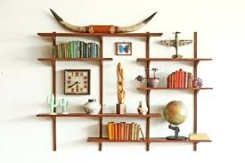 mid century wall shelves large mid century shelving wall unit walnut mid century modern wall shelves