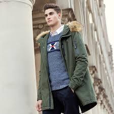 autumn winter jacket men brand clothing cotton coat male fashion camouflage parkas men military long jacket