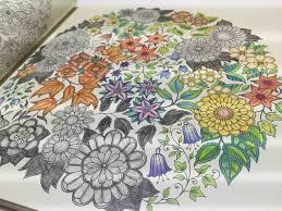the secret garden colouring coloring book 秘密花園 著色本 비밀 정원 time laspe ideas 靈感 Чарівний сад