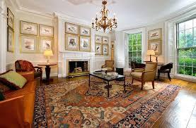 oriental rug on carpet. Oriental Rug Living Room On Beige Carpet Traditional With