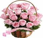 Открытка с большим букетом цветов 95