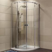 Cooke & Lewis Luxuriant Quadrant Shower Enclosure, Tray & Waste Pack with  Double Sliding Doors (W)900mm (D)900mm | Departments | DIY at B&Q