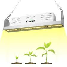 Enjoyield 600w Led Grow Light Splicable Full Spectrum Sunlike White Plant Grow Light For Hydroponics Greenhouse Indoor Plants Seedlings Veg And