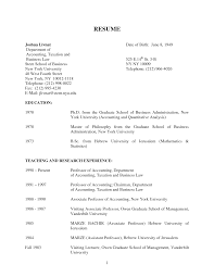 Resume For Fresh Graduate Accounting Sidemcicek Com