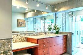 Track lighting in bathroom Living Room Parts Of Bathroom Track Lighting Glass Door How To Set The Bathroom Track Lighting Slowfoodokc Home Blog
