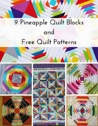 9 Pineapple Quilt Blocks and Free Quilt Patterns | FaveQuilts.com &  Adamdwight.com