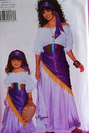 Halloween Costume Patterns Impressive Amazon Butterick 48 Gypsy Costume Pattern Misses' 48 To 48