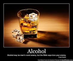 Alcohol Quotes Inspiration Alcohol Quote Man's Worst Enemy