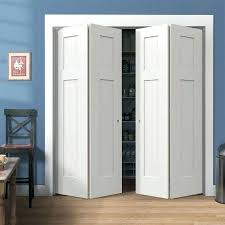 bi fold closet door beautiful white wood with the right doors sizes sliding rough opening best for bedrooms